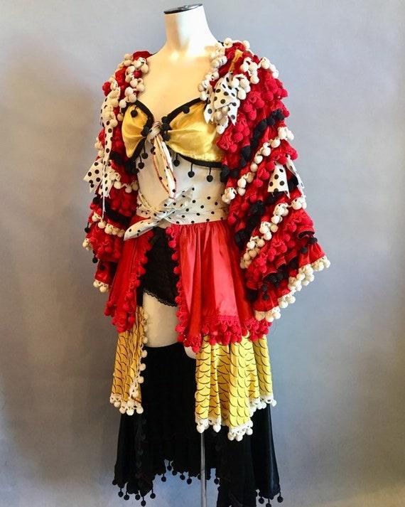 Carmen Miranda Costume / Vintage 1940s-1950s Cost… - image 2