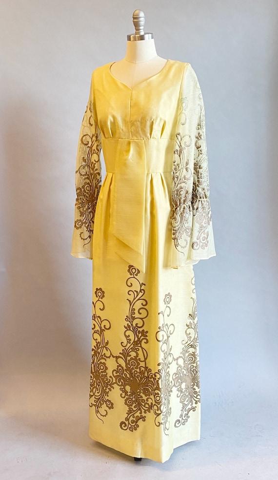 1960s Alfred Shaheen Dress / 60s Shaheen Dress / … - image 4