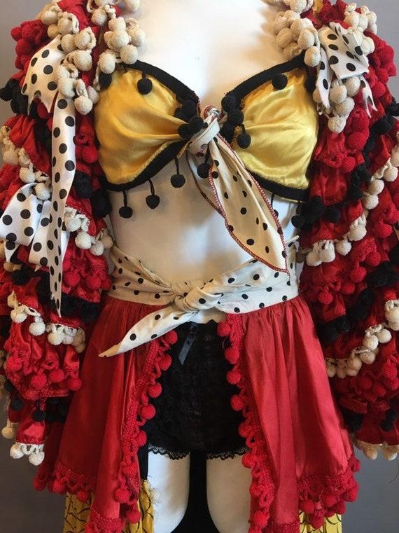 Carmen Miranda Costume / Vintage 1940s-1950s Cost… - image 4
