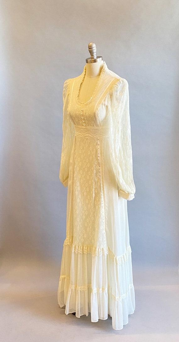 1970s Gunne Sax Dress / 70s Maxi Dress / 1970s Gu… - image 4
