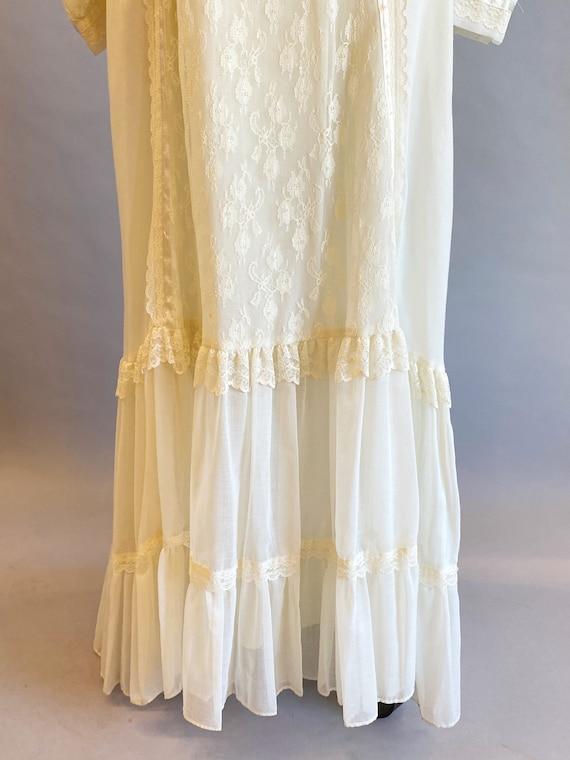 1970s Gunne Sax Dress / 70s Maxi Dress / 1970s Gu… - image 9