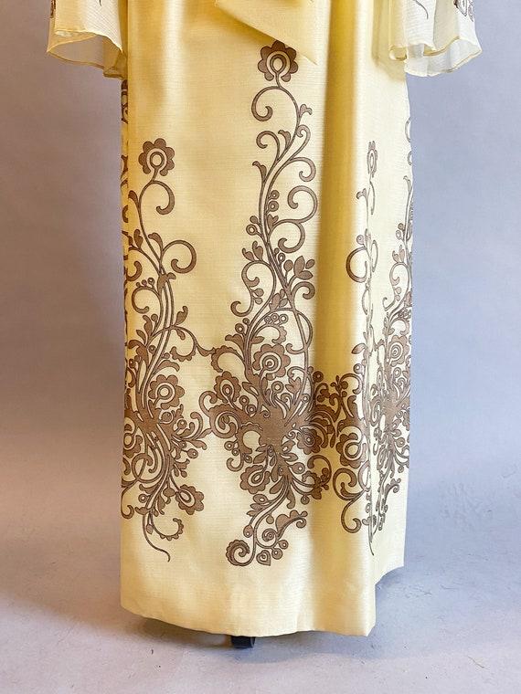 1960s Alfred Shaheen Dress / 60s Shaheen Dress / … - image 7