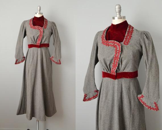 Victorian Suit / Late 1800s Winter Suit / Victoria