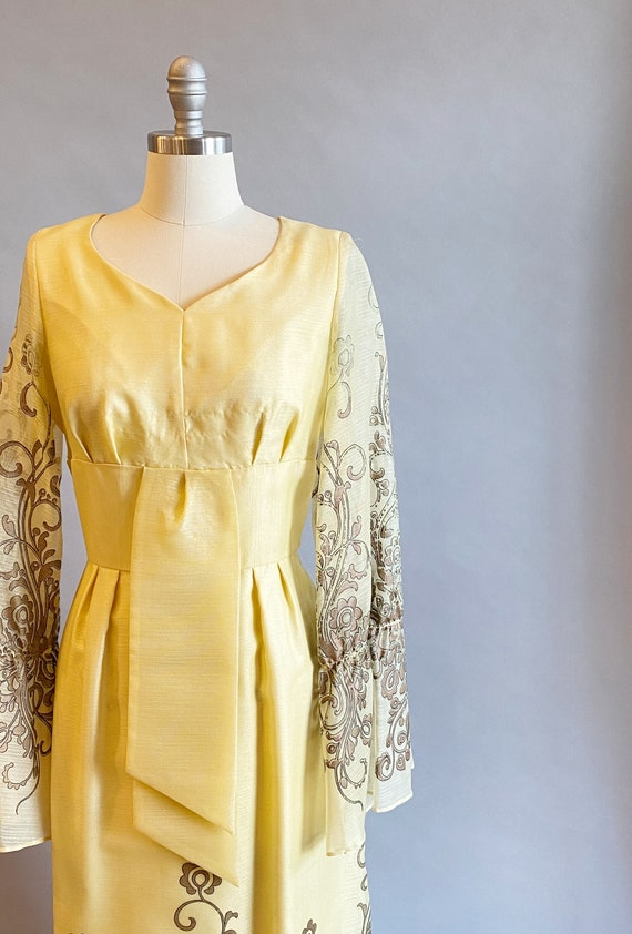 1960s Alfred Shaheen Dress / 60s Shaheen Dress / … - image 3