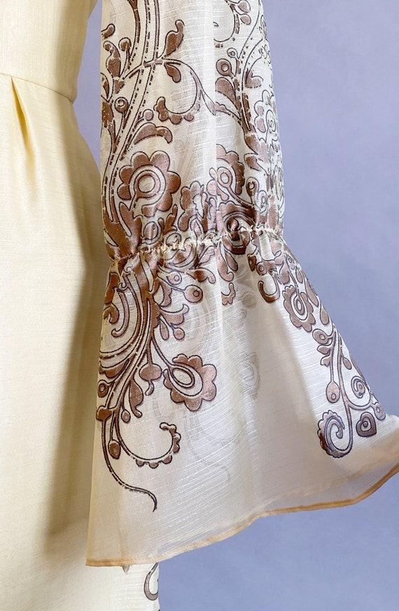 1960s Alfred Shaheen Dress / 60s Shaheen Dress / … - image 8