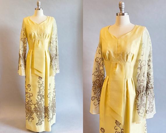 1960s Alfred Shaheen Dress / 60s Shaheen Dress / … - image 1
