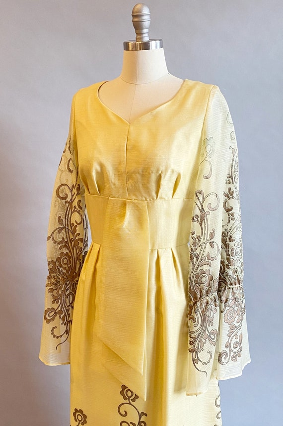 1960s Alfred Shaheen Dress / 60s Shaheen Dress / … - image 5