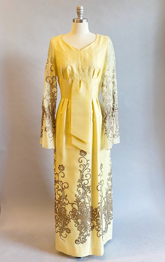 1960s Alfred Shaheen Dress / 60s Shaheen Dress / … - image 2