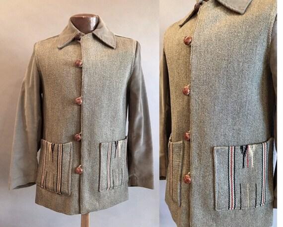 1950s Custom Chimayo Jacket / 50s Chimayo / Men's