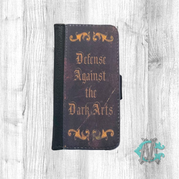 Defense Against The Dark Arts Spell Book Folio Phone Case Made Etsy