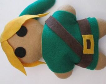 Legend of Zelda Inspired Link Plush