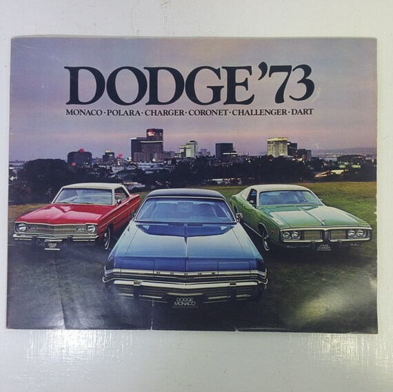 Vintage 1973 Dodge original sales brochure  - ephermera