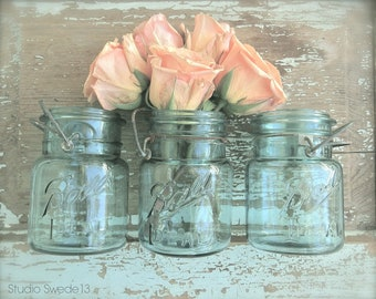 Peach Rose Blossom Photography, French Country Wall Art, Romantic Shabby Rustic Art, Modern Farmhouse, Fixer Upper Style Country Kitchen Art
