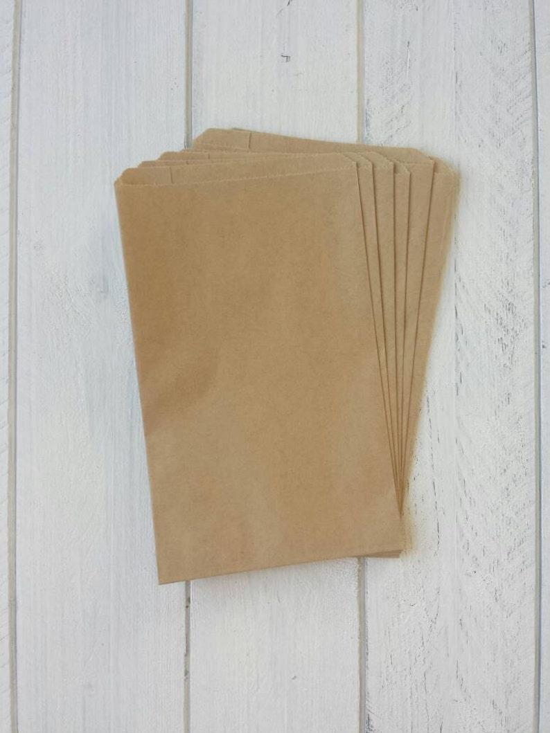 66fbac8ab9 50 kraft papier sacs-5 x7.5 | Etsy