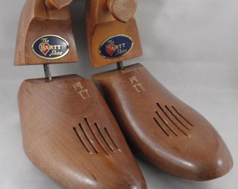 Wooden Shoe Stretchers, Shoe Forms, Shoe Trees from The Hartt Shoe Company (Canada), Size 11M