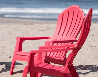 Coast Photography, Beach Wall Art, Relaxation, Vacation, Dreamy Romantic Quote, Casual Home Decor, Beach Chairs Photo Beach Gift for Partner
