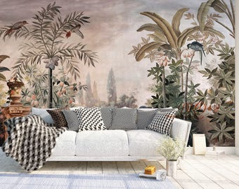 Wall Coverings Wallpaper Murals Removable Vintage Decals
