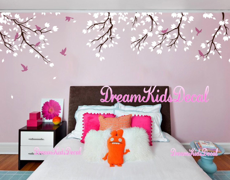 kinderzimmer wand aufkleber baby m dchen und wand aufkleber etsy. Black Bedroom Furniture Sets. Home Design Ideas