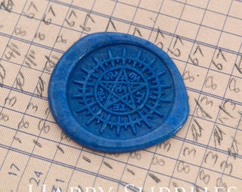 Wax Seal Stamp 1pcs 30mm Ancient Star Compass Seal of Contract Metal Stamp  Wedding Wax Seal Stamp  Sealing Wax Stamp WS552 - 85BT