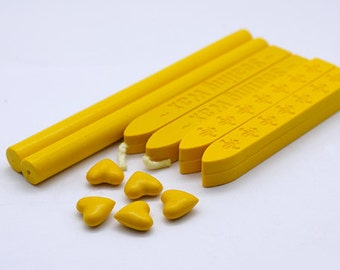 Yellow Sealing Wax for Wax Seal Stamp Set