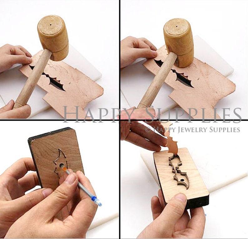 Steel Rule Metal Die Cutter Cross Earrings Leather cutting Die Leather Die Cut Mold,Leather Punch Crafts Kraft Tool