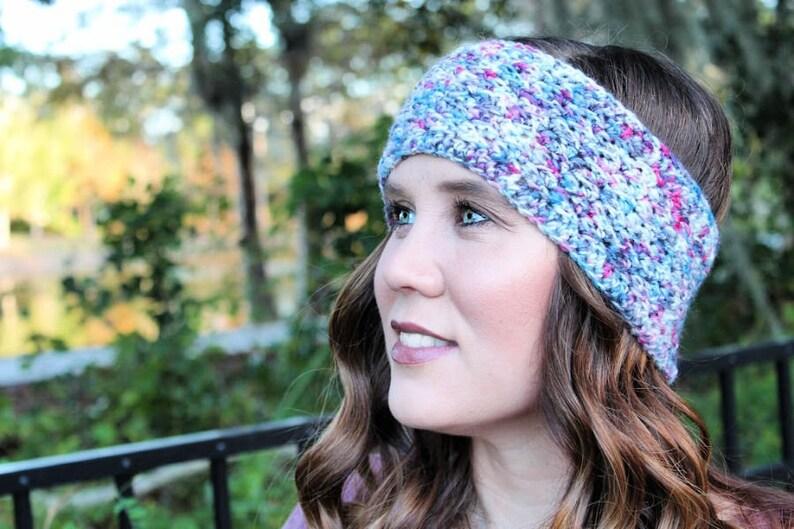 Boston Earwarmer Instant Download Crochet Earwarmer Pattern