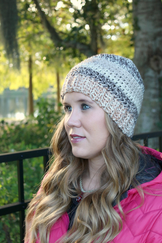 Crochet Hat Crochet Pattern Kj Hat Instant Download Etsy