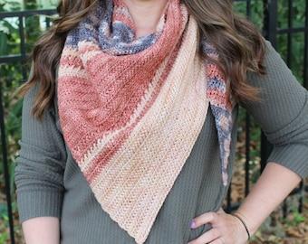 Crochet Shawl Pattern, Amara Shawl, Instant Download