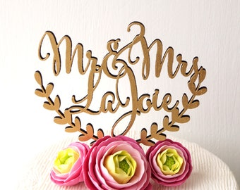 Personalized wedding cake topper, cake topper, rustic wedding cake topper, names cake topper, wooden cake topper