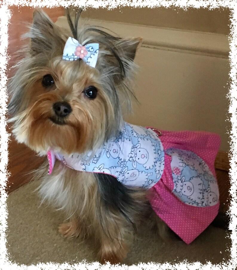 Pet Clothes Clothes for Pets Little Lamb Dog Dress Dog Apparel Puppy Clothes XXS,XS,S,M...Dress for Dogs Apparel for Pets Dog Dress