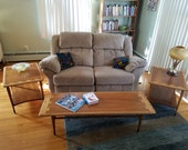 Beautiful Lane Acclaim Coffee Table and Two End Tables