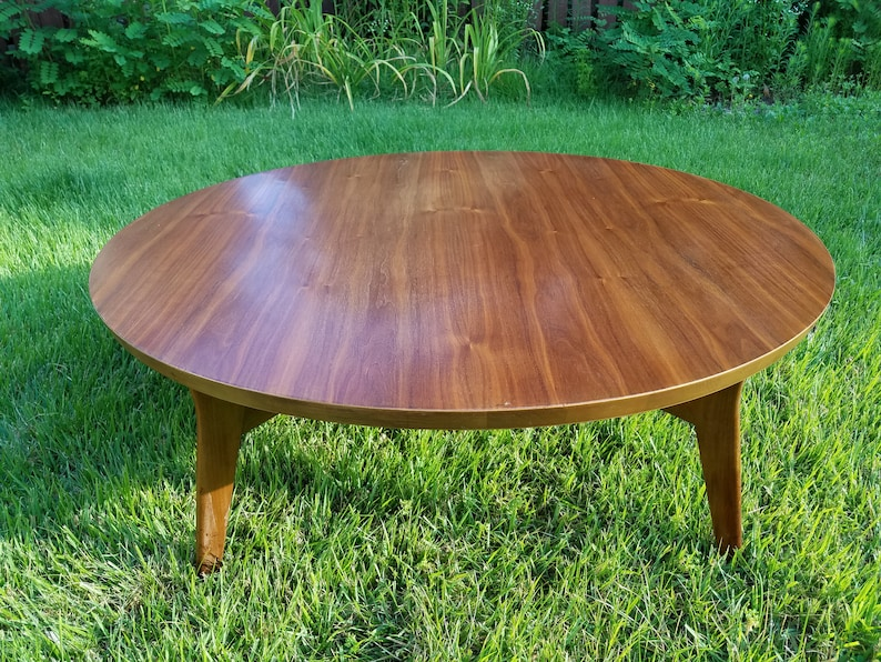 Astounding Round Coffee Table By Mersman Lamtechconsult Wood Chair Design Ideas Lamtechconsultcom