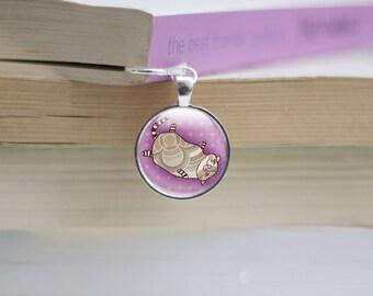 Cat Bookmark - Cat Photo Bookmark - Cat lover Bookmark - Glass Cat Bookmark - Photo Bookmark (cat 12)