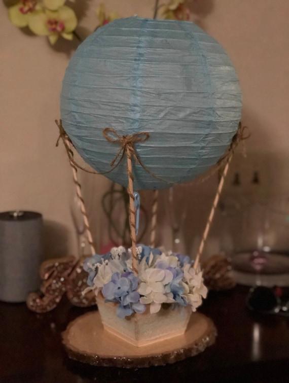 Hot Air Balloon Centerpiece No Flowers
