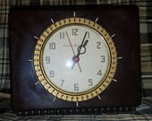 Fantastic General Electric Kitchen Clock Timer Bakelite Mid Century Modern Working