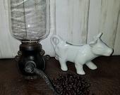 Antique Arcade Coffee Grinder Wall Mount Farmhouse