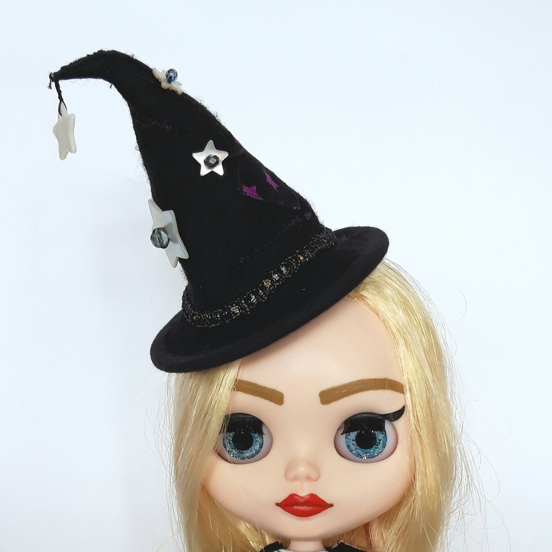 Shabby Chic Witch Doll