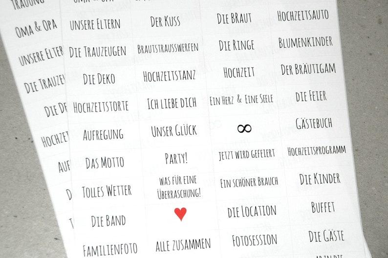 scrapbooking Stickers to fashion photo album 52 sticker wedding