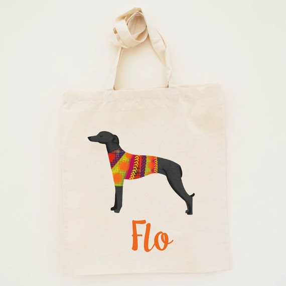 ITALIAN GREYHOUND essential tote bag ANY COLOR