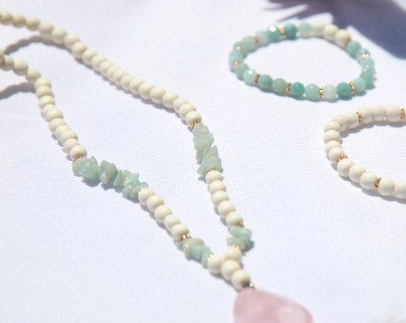 Aloha Mala necklace, a mala for self-love