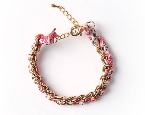 "Bracelet ""Rosie"" handmade in Montreal"