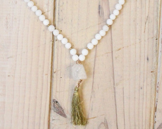 Mala necklace handmade in Montreal