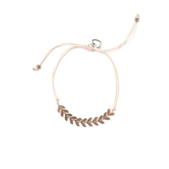 Leaf bracelet to customize