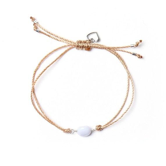 Lavender bracelet, a stone for communication