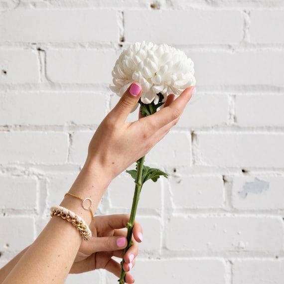 "Bracelets ""Joy"" handmade in Montreal"