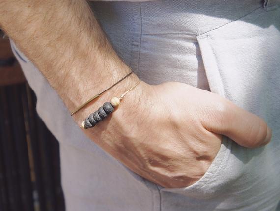 Men bracelets DUO