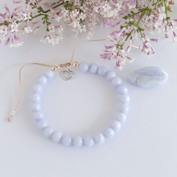 Bracelet Lilas 6mm handmade with love in Montreal