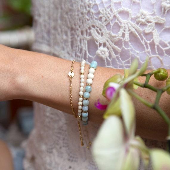"Bracelets Si Simple ""Summer Romance"" handmade in Montreal"
