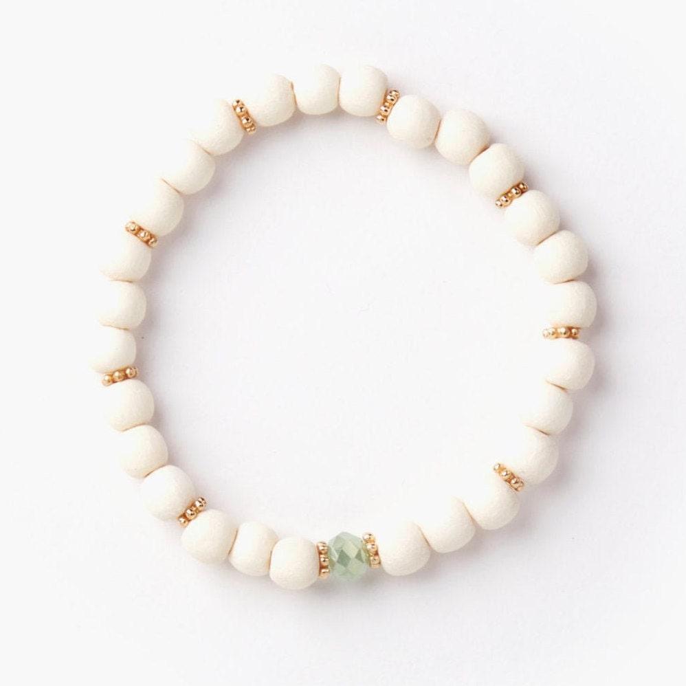 Handmade handmade wooden jewelry turquoise sand