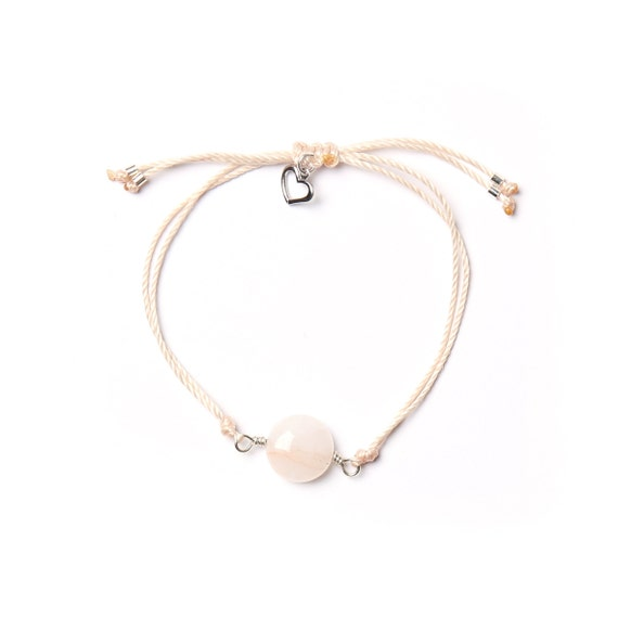Joy bracelet, a stone for the heart